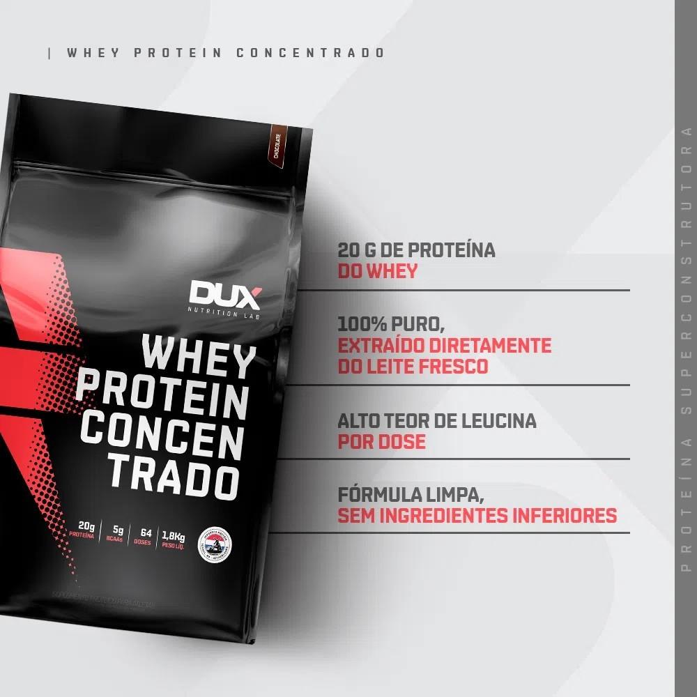 Whey Protein Concentrado - Pouch 1800g