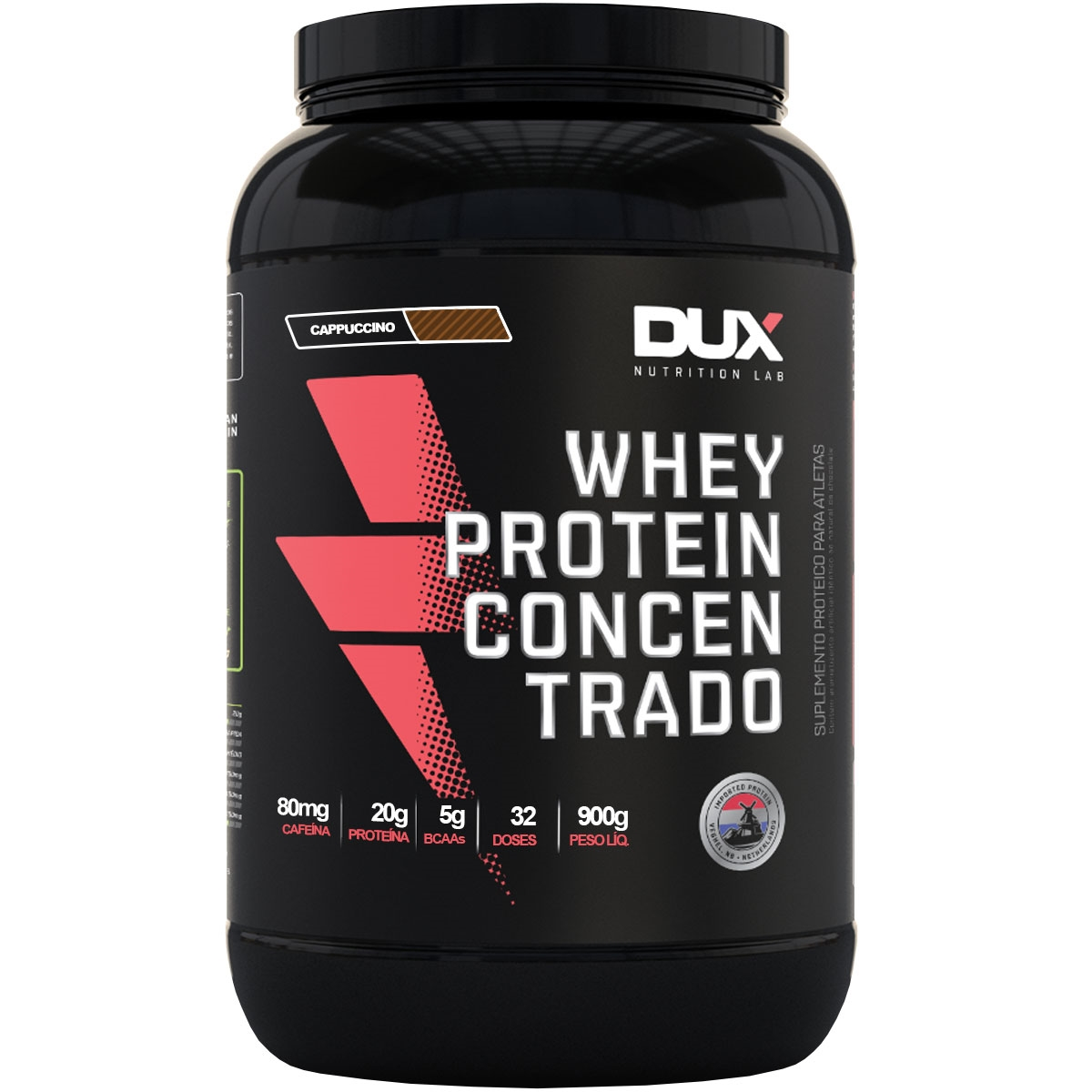 Whey Protein Concentrado Cappuccino - Pote 900g