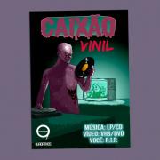 Antologia de HQ de terror: Caixão - Vinil