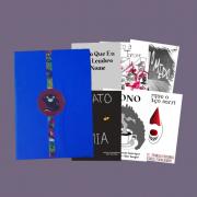 Caixa coleção com 6 HQ de terror: Temores Ecléticos