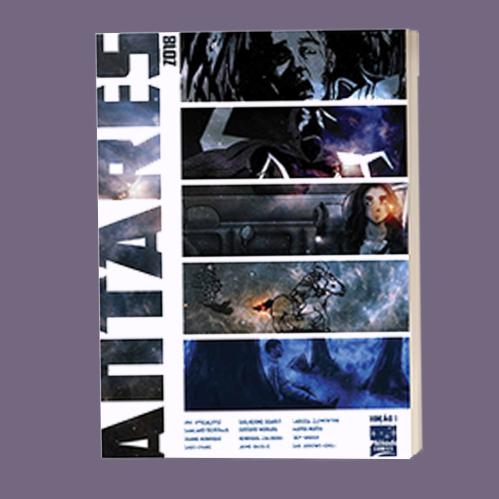 Antologia com 5 HQ longas e variadas: Revista Antares