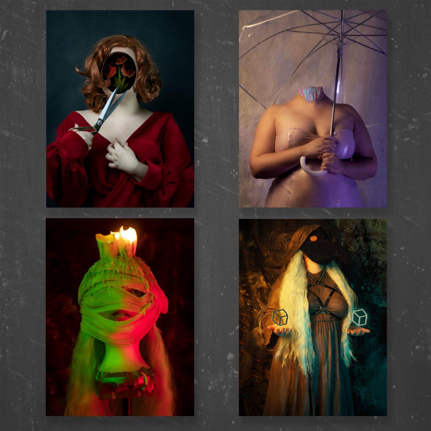Coleção de 4 prints A5