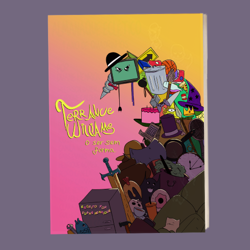 HQ colorida de comédia: Terrance Williams - O ser sem forma