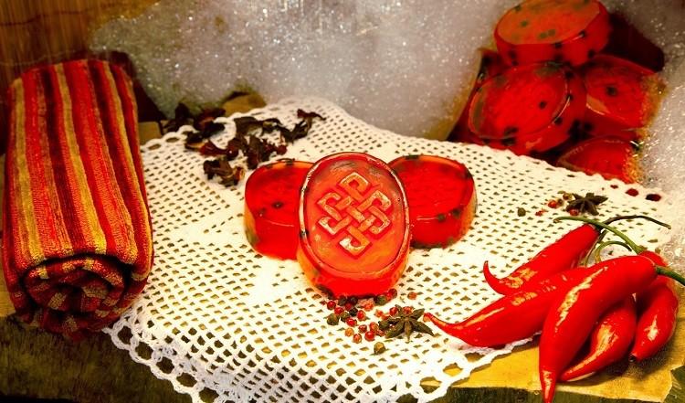 Sabonete RED KARMA - HELLS BELLS FILMES