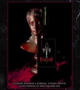 Vinho REDIVIVO (suave), Vinho Tinto Vampyrico