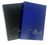 8 albuns de foto 10x15/208 fotos c/rebite