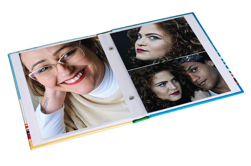 1 Album de foto  Couro Veludo ou Glitter . 15x21/ 60fotos