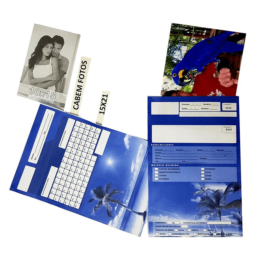 2000 Envelopes Photos/Kodak/Fuji ou Paisagem 18 X 28 Cm