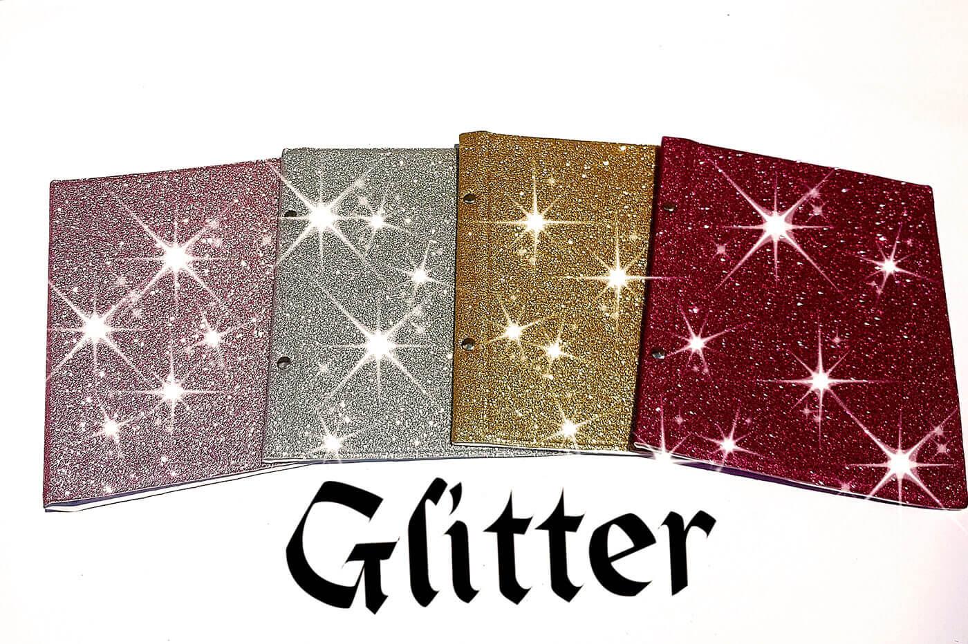 2 albuns de foto Veludo / Glitter ou Couro 20x25/ 4o fotos
