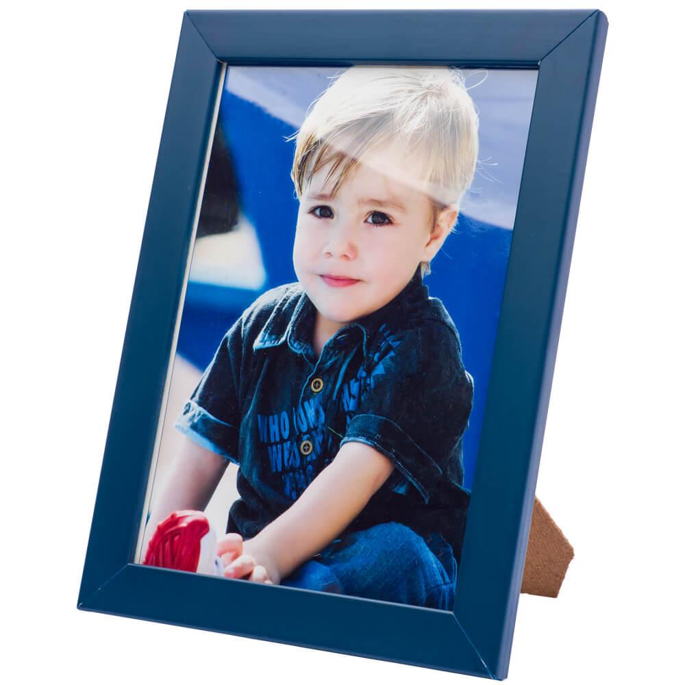 2 porta retratos 10x15 madeira maciça com vidro varias cores