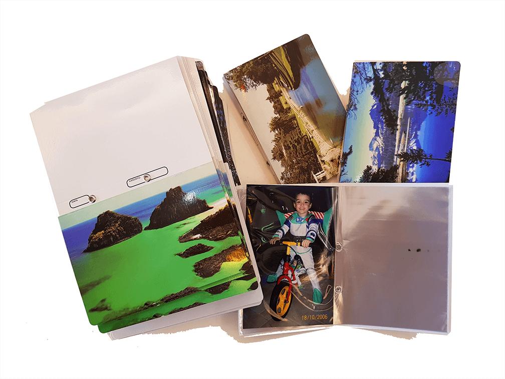 500 albinhos de fotoacabamento Paisagem/Fuji ou Kodak 10x15/40 fotos
