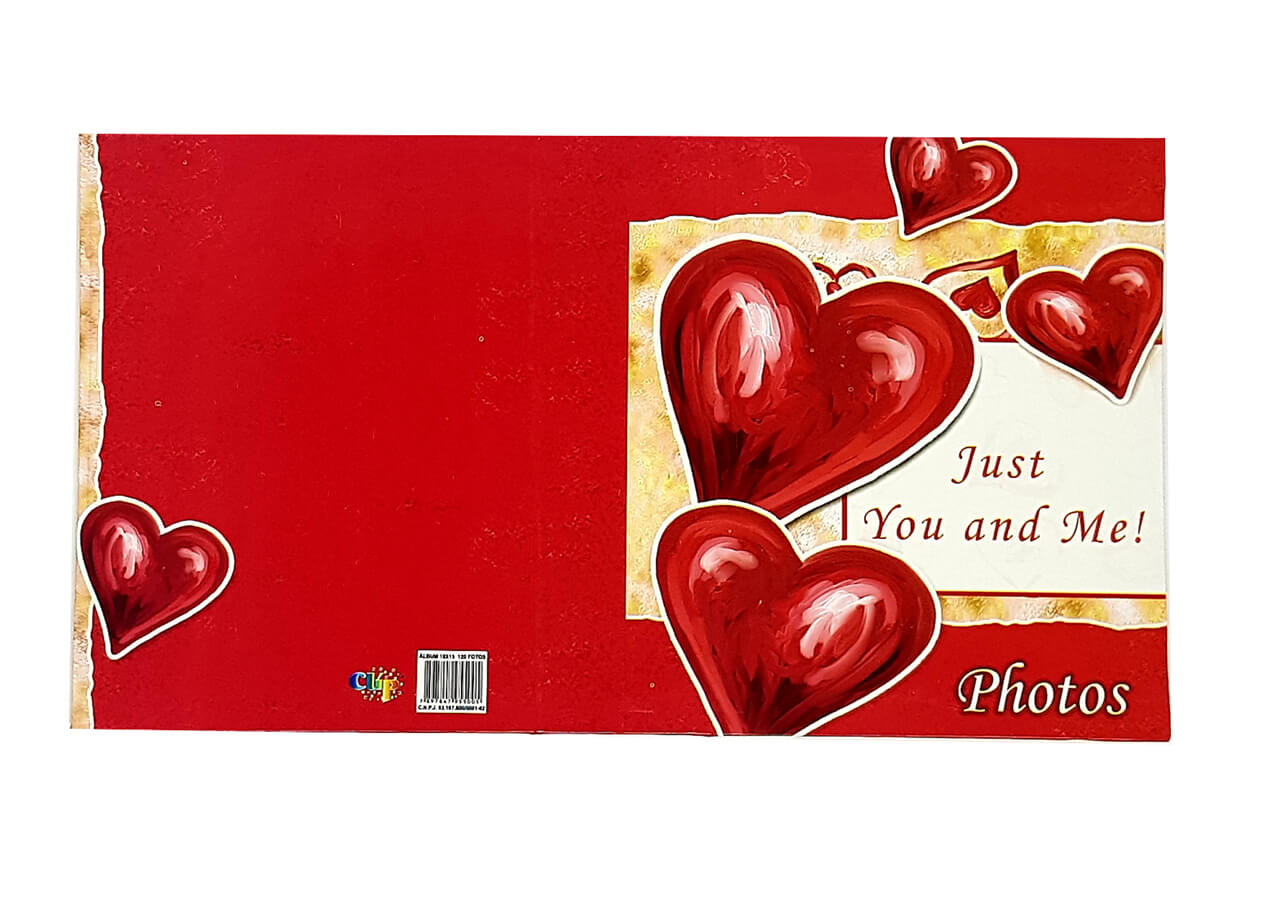 Álbum Para 480 Fotos 10x15 Amor 4 Unid.120 Fotos