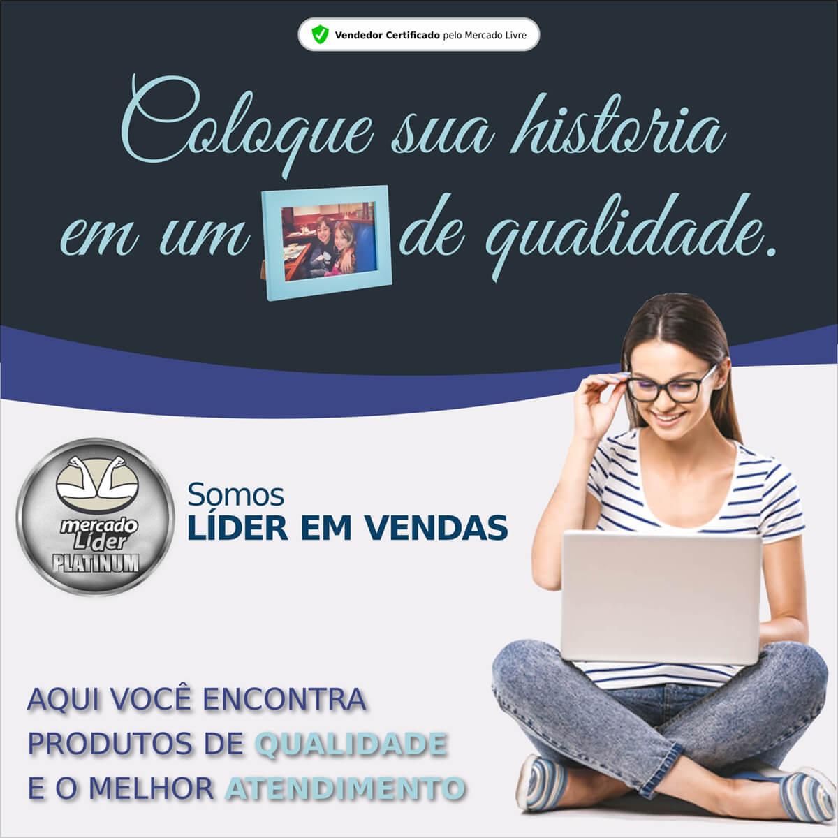 PORTA RETRATO 10X15 VARiAS CORES MADEIRA DE REFLORESTAMENTE E VIDRO PARA PAREDE OU MESA