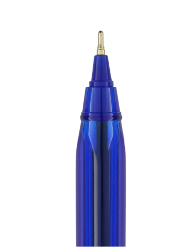 Caneta Esferográfica 0.7mm Azul Triangular BRW - C/50un