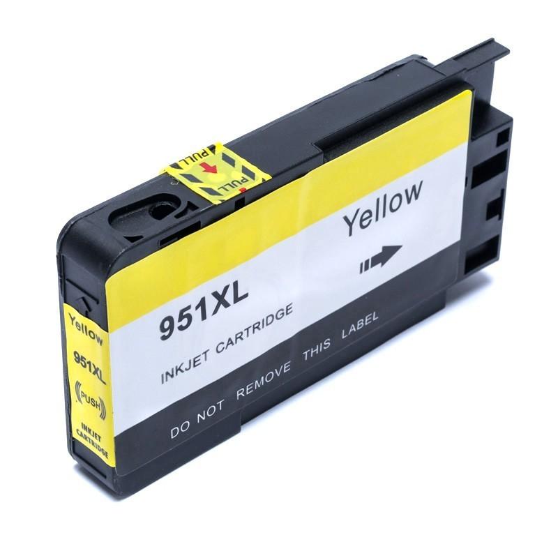 Cartucho de Tinta Compatível 951 CB336Z Amarelo p/ HP - 30ml