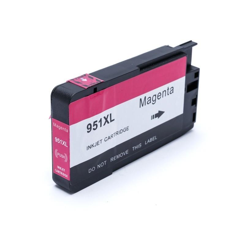 Cartucho de Tinta Compatível 951 CB336Z Magenta p/ HP - 30ml