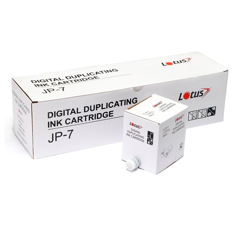 Tinta Compatível Lotus Preto p/ Dupli JP7 - 500ml (Kit c/ 5)