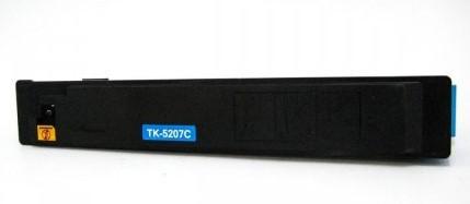 Cartucho Toner ZEUS para Kyocera TK5207 CYAN COM CHIP - 12K