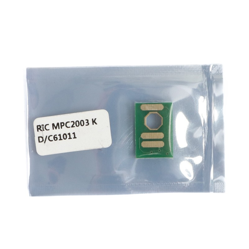 Chip Compatível Black p/ Ricoh MPC2003 MPC2503 - 15K