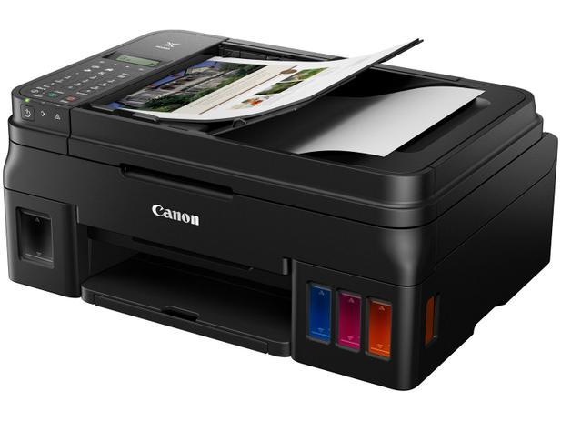 Impressora Canon Mega Tanque G4110 Com Wireless, Rede e USB