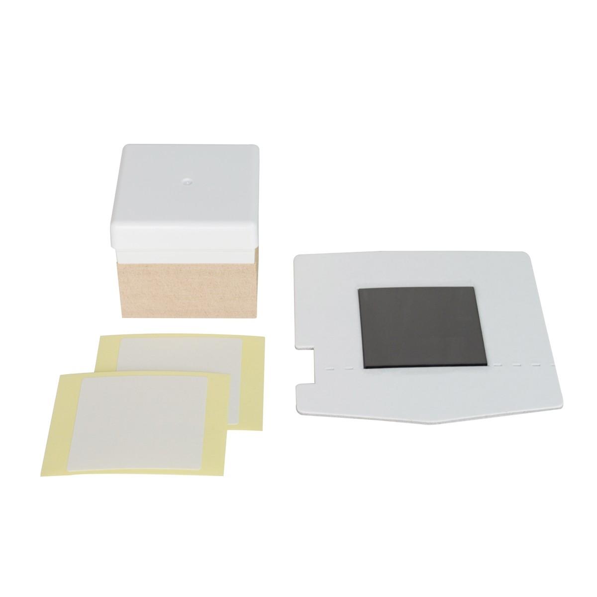 Kit Com Carimbeira 30x30mm Para Silhouette Mint