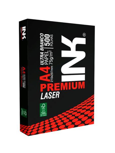 Papel A4 Sulfite Ink Premium 75g Pacote Com 500 Folhas
