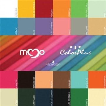 Papel Color Plus Mimo A4 30 folhas Sahara 180g