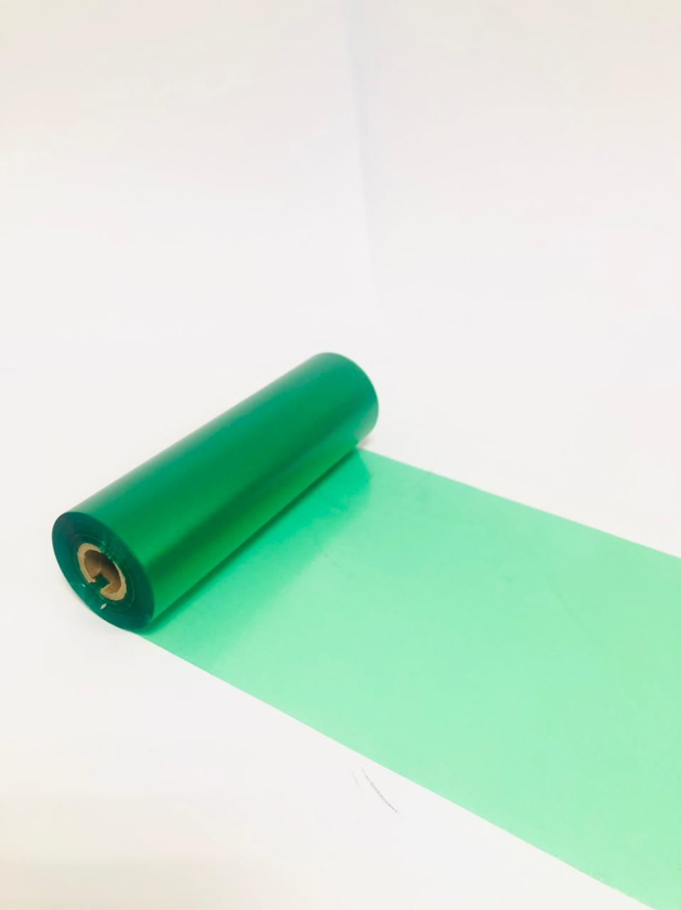 Ribbon Verde Cera/Resina 110mmX74m C70 Out - TTR - 0,5