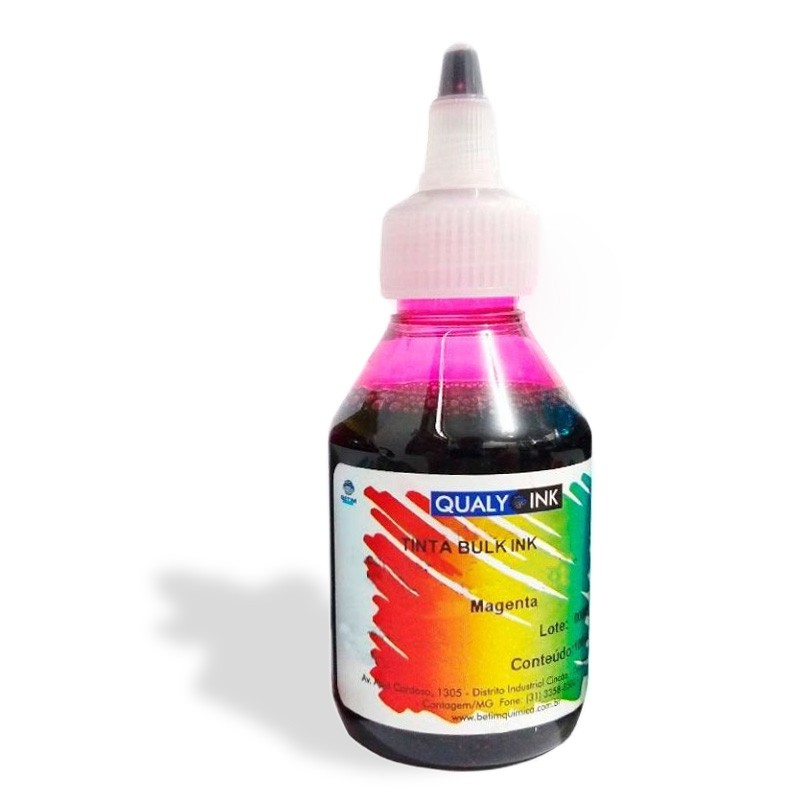 Tinta Epson Magenta Série L 100 Ml Bico Aplicador