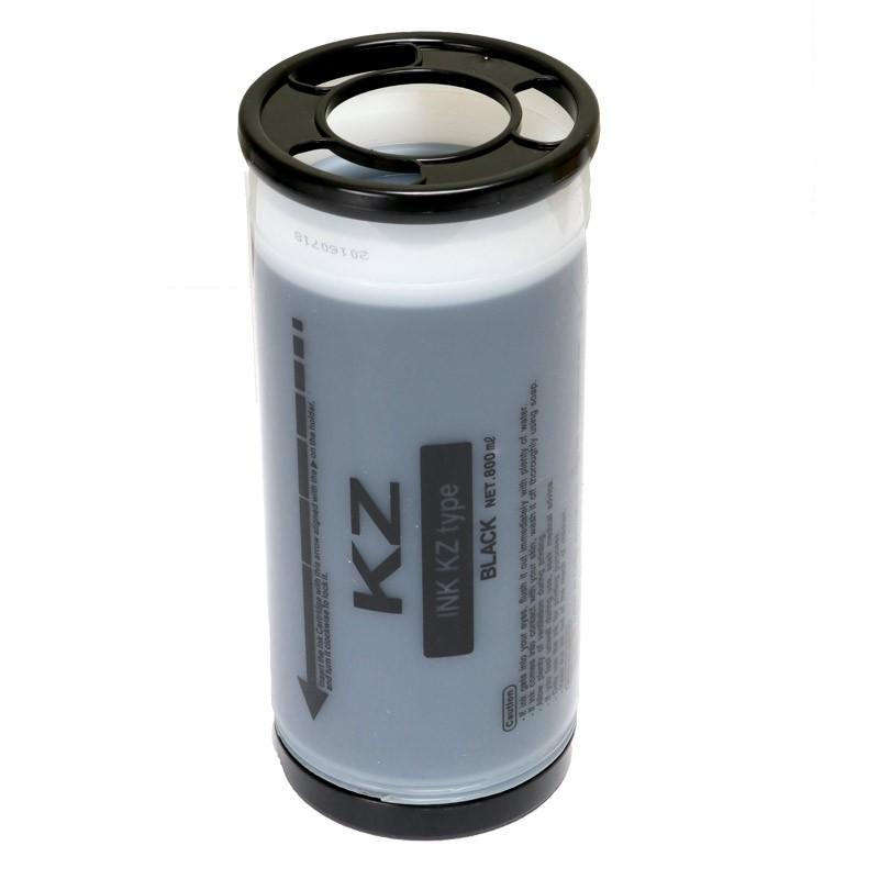 Tinta Compatível Preto para Duplicador Digital KZ  - 800ml