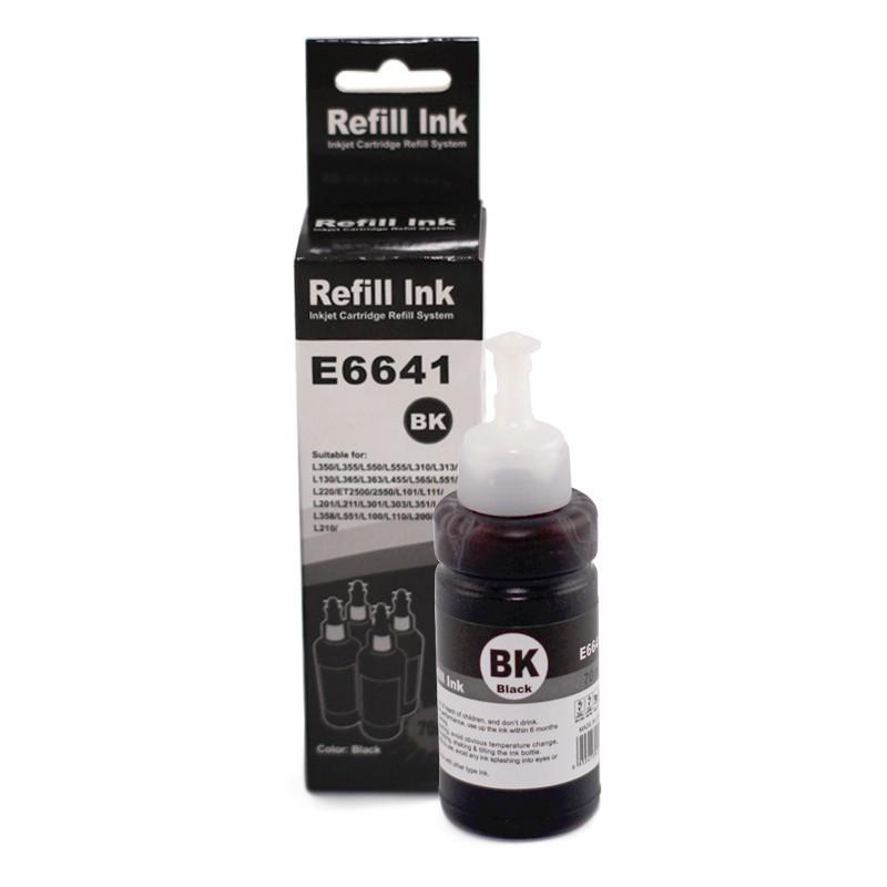 Tinta Lotus para Epson T664 Black 70ml Corante