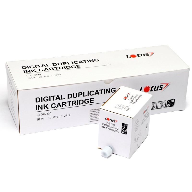 Tinta Preta VT para Duplicador Digital Ricoh SS810 VT2105 Kit 5 unid.