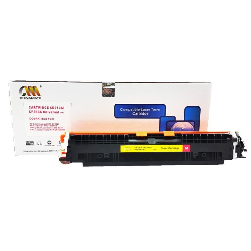 Toner Compatível Chinamate Ce313a Magenta p/ Hp Cp1025 1020
