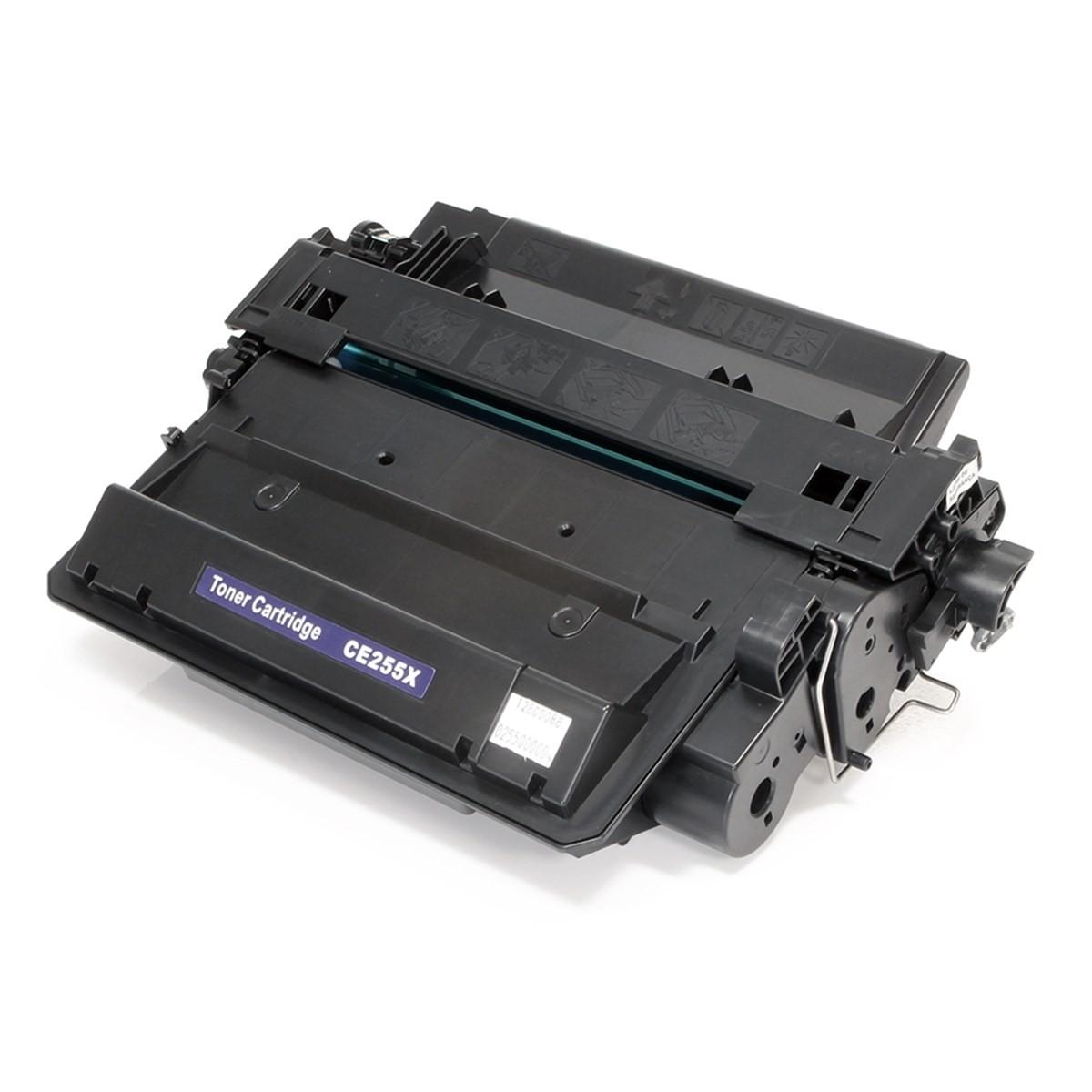 Toner Compatível Evolut CE255X Black p/ HP P3015 (Kit c/ 4)