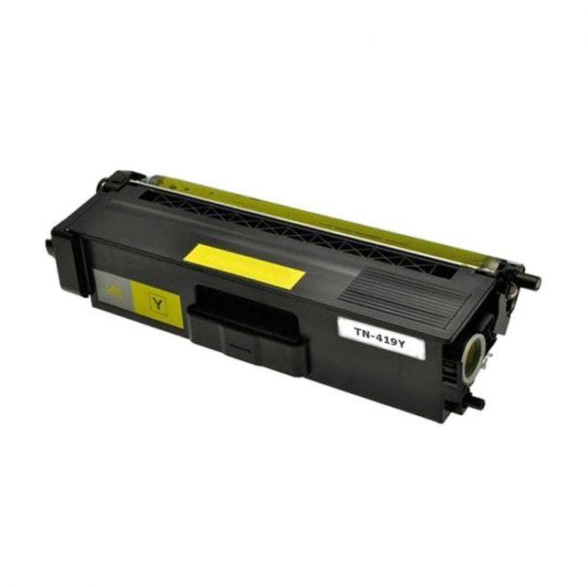 Toner Compatível Evolut TN419 TN416 Amarelo p/ Brother-6.5K