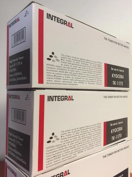 Toner Compatível Integral TK1172 TK1175 p/ Kyocera M2040