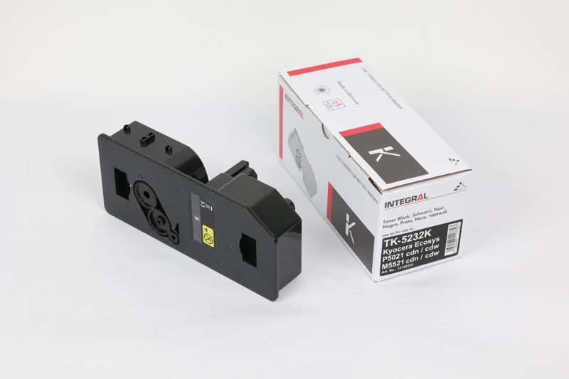Toner Compatível Integral TK5232 BK p/ Kyocera c/chip - 2.6k