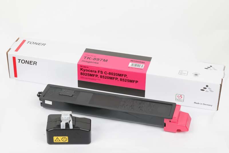 Toner Compatível Integral TK897 Magenta p/ Kyocera - 6k
