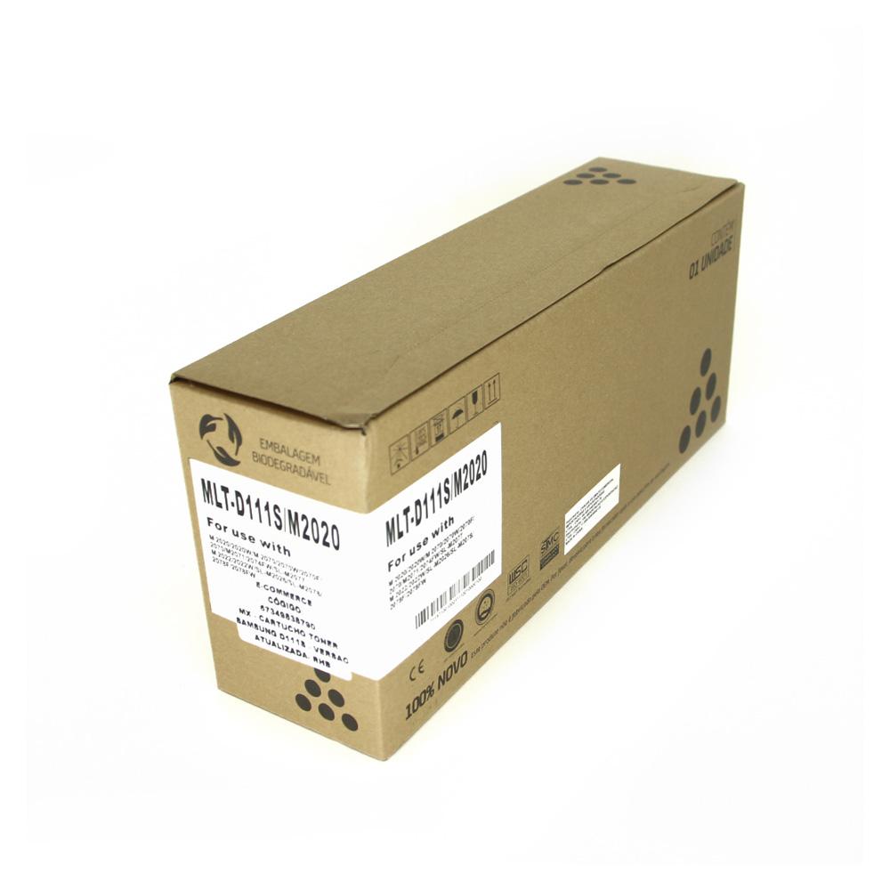 Toner Compatível RHB D111S Preto p/ Samsung M2070W M2070