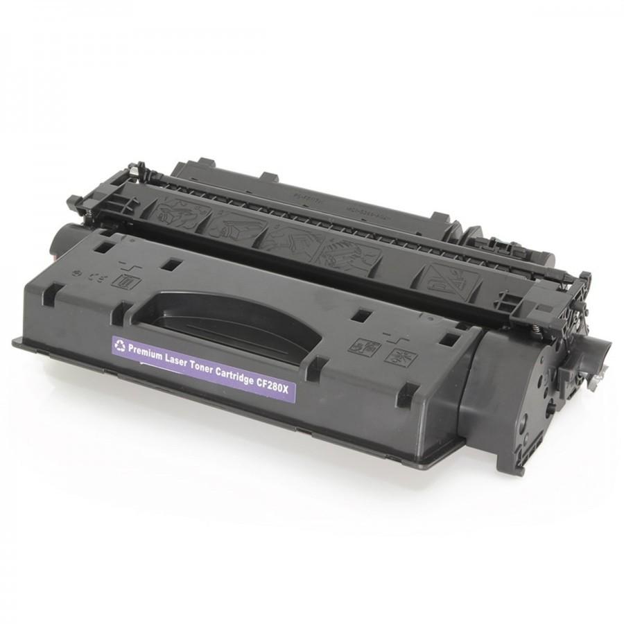 Toner Compatível Evolut CE505X CF280X p/ HP - 6.9K