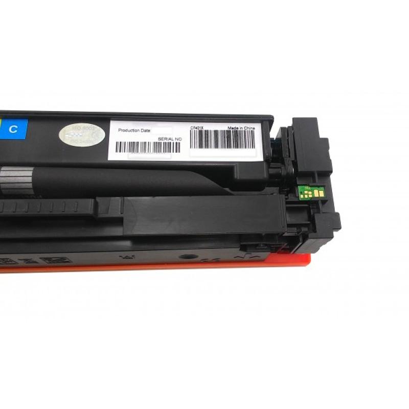 Toner Compatível Evolut  201X CF401X Cyan p/ HP