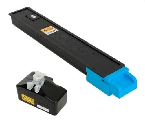 Toner Integral para Kyocera TK8327 Cyan com chip (12K)