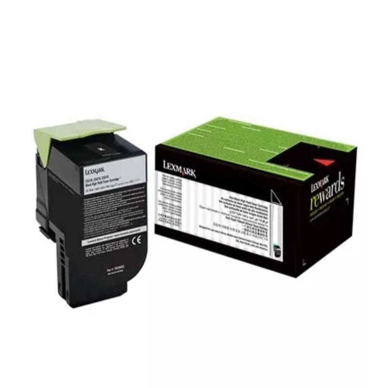 Toner Lexmark 708xk 70c8xk0  Preto Para Cs510