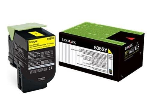 Toner Lexmark 80X | Amarelo para CX410DE | CX310DN