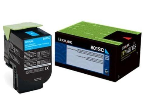 Toner Original Lexmark 80X Ciano para CX410DE CX310DN