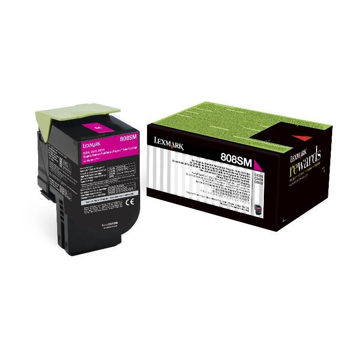 Toner Original Lexmark 80X Magenta p/ CX410DE CX310DN