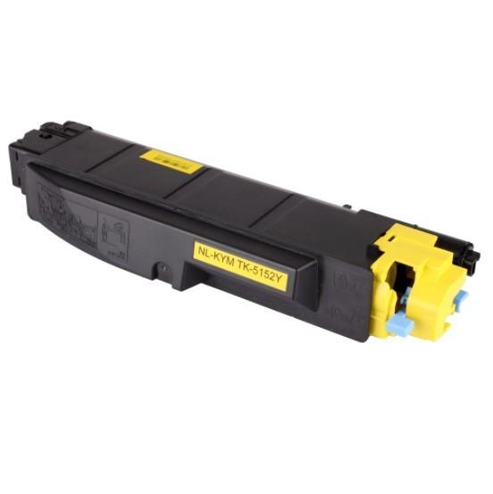 Toner Compatível Zeus TK5152 Yellow p/ Kyocera c/chip - 10k