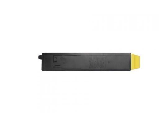 Toner Compatível Zeus TK8117 Yellow p/ Kyocera c/chip - 6k