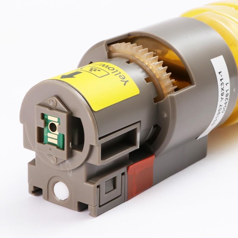 Toner Zeus Amarelo para Ricoh MPC4502 5502 com Chip