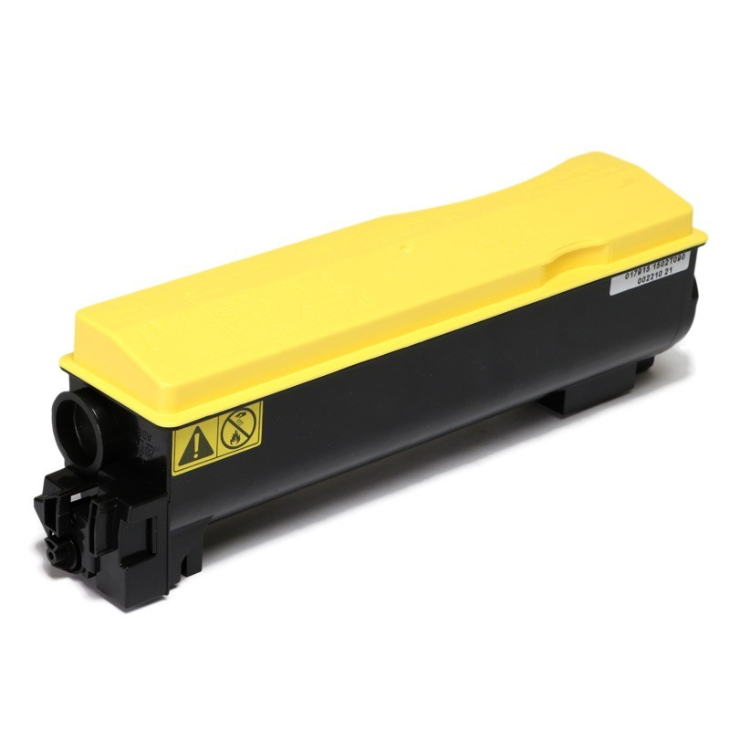 Toner Compatível Zeus TK562 Amarelo p/ Kyocera c/chip - 10k